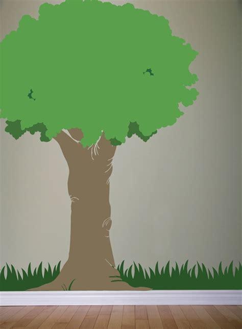 oak tree  foot tall wall decal sticker