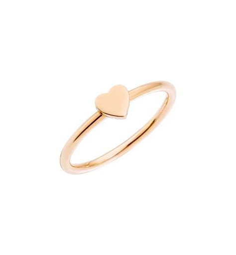 pomellato dodo shop on line anello cuore oro rosa 9 kt dodo official store