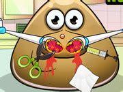 Pou nose doctor game 2 play online