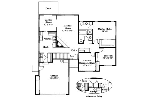 House Designs Floor Plans Usa by Traditional House Plans Ventura 10 063 Associated Designs