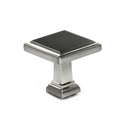 richelieu transitional metal knob brushed nickel 32x32