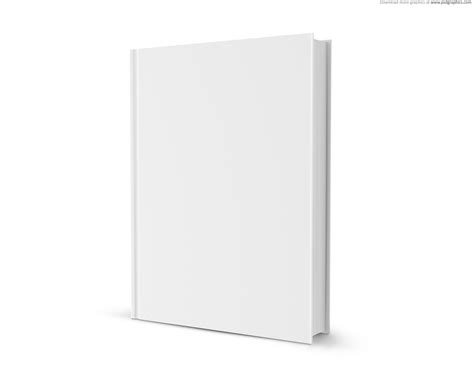 blank book template for blank white book psdgraphics