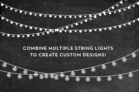 string of lights clipart string lights clip set png ai by birdiy design