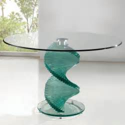 Circular Vase Multipurpose Round Glass Tables For Home