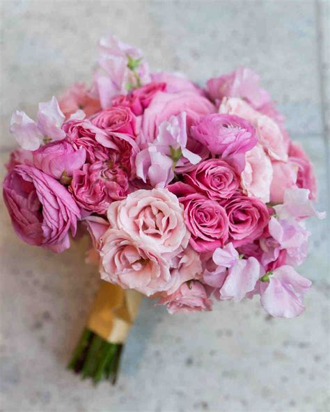 Wedding Flower Pictures Pink by Our Favorite Wedding Bouquets Martha Stewart Weddings