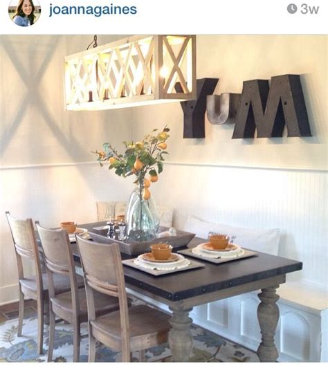 Fixer Dining Room Centerpieces 2 Farmhouse Fixer Dining Room Renovation Remodel
