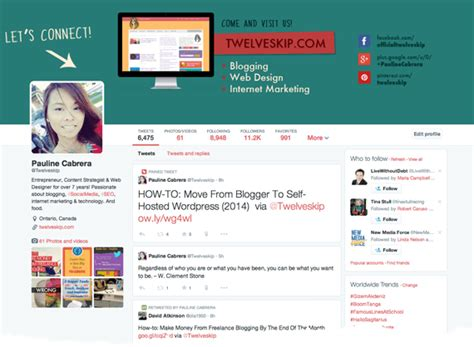 design cover twitter 14 stylish twitter header photo templates inspirations