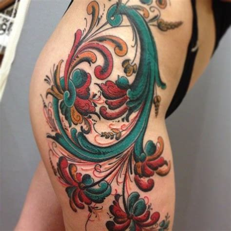 rosemaling tattoo 83 best images about hardanger rosemaling on