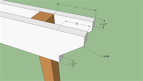beam plans pergola plans free howtospecialist how to build step