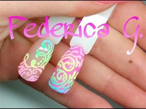 nail art effetto zucchero tutorial nail art effetto zucchero 2 polveri acriliche youtube