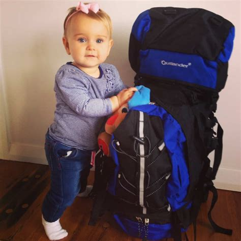 backpacking with a baby a travel mad s