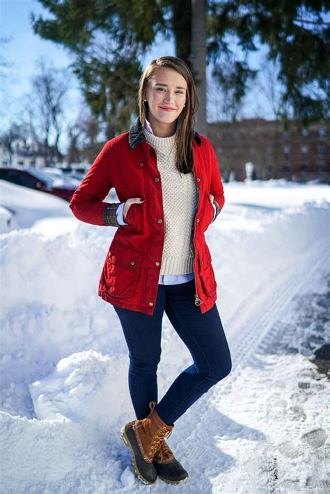 Fashion Find Get Preppy This Winter by Preppy Winter Fashion With Barbour And Ll Bean Popular