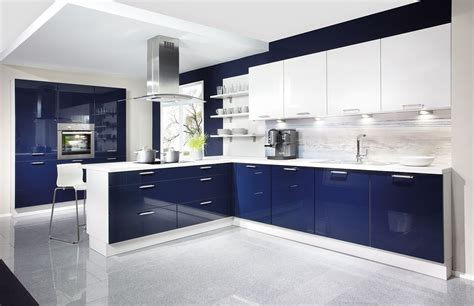 designer modern kitchens kitchen high glossy modern blue kitchens modern kitchen