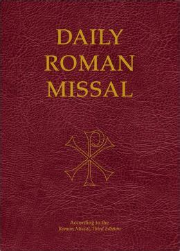 the roman missal 1962 english and latin edition roman daily roman missal edition 3 by our sunday visitor
