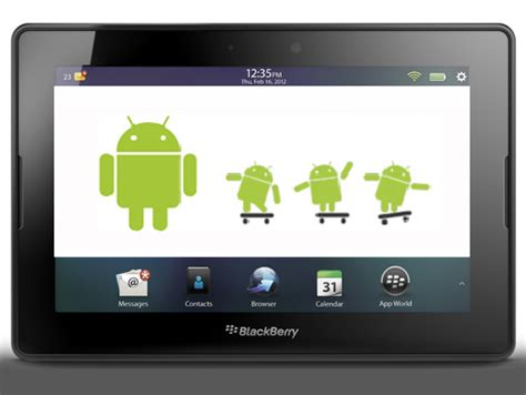 blackberry playbook android aplicaciones android gratuitas para blackberry playbook