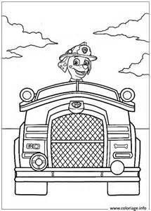 coloriage pat patrouille vehicule dessin
