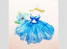 Stunning Fashion Designs Sketched by Real Flower Petals ... Fashion Designs Sketches