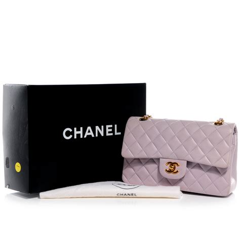 Chanel Oversized Clutch Lilac chanel vintage lambskin quilted small flap lilac 62276