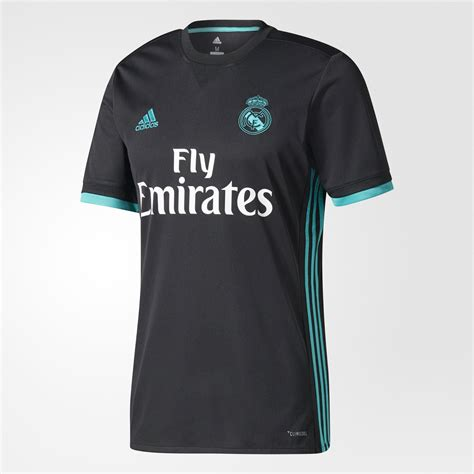 Jersey Real Madrid Away Patch Chion 17 18 Grade Ori Official real madrid 17 18 away kit released footy headlines