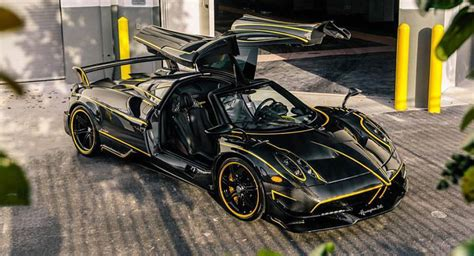 Home Design Show Miami 2016 by Carbon Pagani Huayra Bc Lands In U S With Yellow Accents