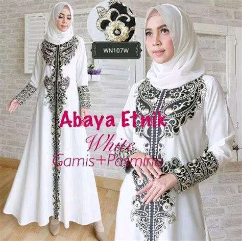 Gamis Ceruti White Gamis Putih Baju Gamis Umroh Pakaian Diskon inilah harga gamis putih haji terbaru bulan ini hijaber shop