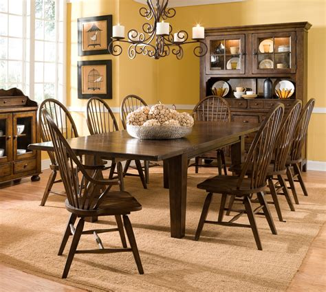 Dining Room Table And Hutch Sets Wonderful Home Dining Room Decor Appealing Featuring