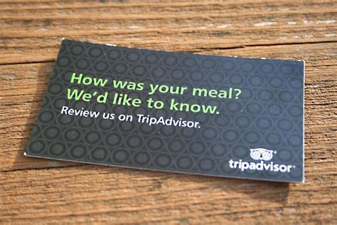 Restaurant Com Gift Card Reviews - use business cards to ask offline customers for third party online reviews see how