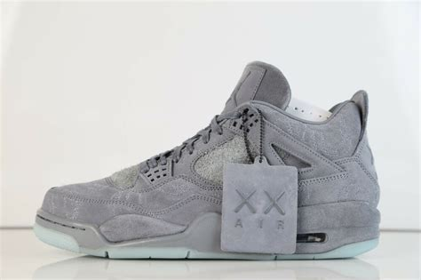 Nike X Kaws Air Retro 4 Cool Grey 930155 003 9 5 12 In Stock 11 3 1 Ebay by Nike X Kaws Air Retro 4 Cool Grey 930155 003 9 5 12 In Stock 11 3 1 Ebay