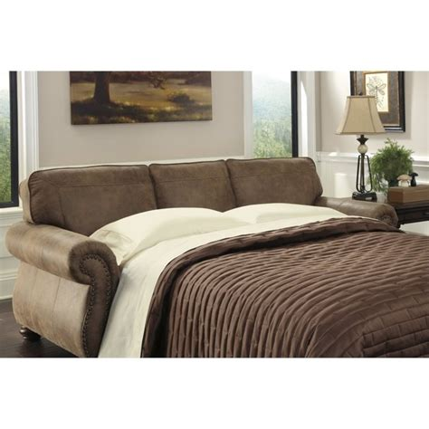 larkinhurst sleeper sofa larkinhurst faux leather size sleeper sofa in