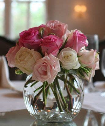 Roses In Vases Centerpieces by 25 Best Pink Flower Centerpieces Ideas On
