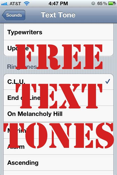 tone on tone how to make free text tones for the iphone