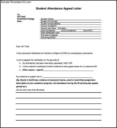 Appeal Letter Best Practices Sle Appeal Letter To Renew Contract Sle Appeal Letter For Financial Aid