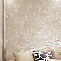 bedroom wall texture aliexpress com buy creamy white modern 3d floral