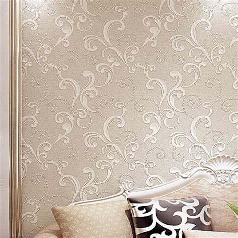 floral wallpaper for walls aliexpress buy white modern 3d floral