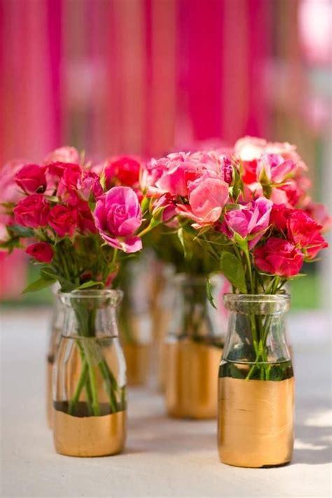 floreros con frascos ideas floreros con frascos reciclados centros