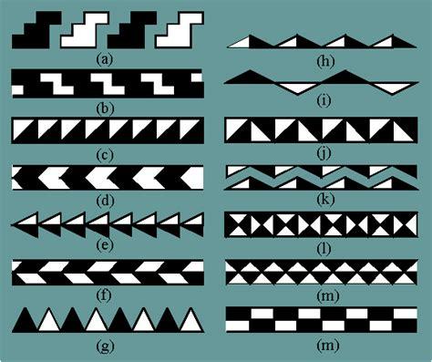 frieze pattern types chapter 2 4