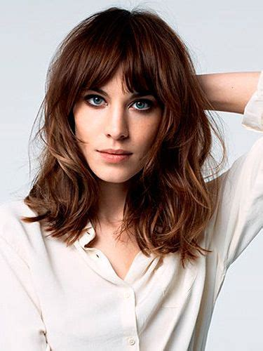 images medium length curly hair with fringe 23 trendiest bob haircuts for 2017