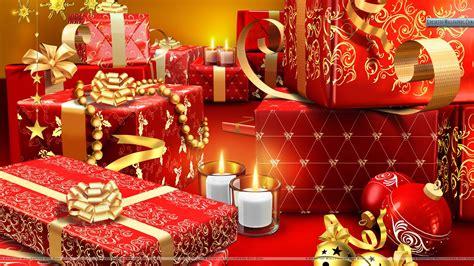 santa s gifts at christmas wallpaper