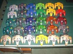 nintendo 64 colors nintendo s always had the funkiest color palette for its