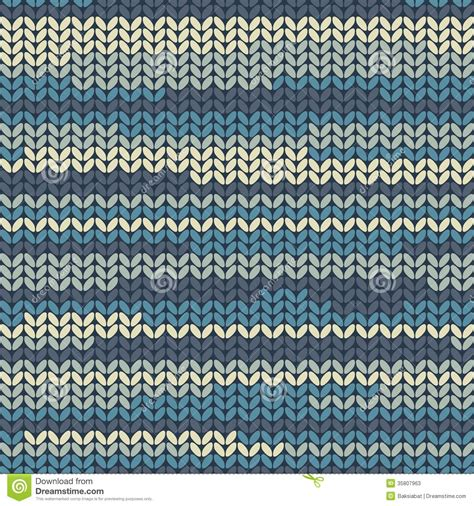 knit pattern wallpaper illustration seamless knitted pattern stock vector