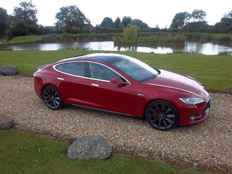 ev cars tesla model s p85 performance plus