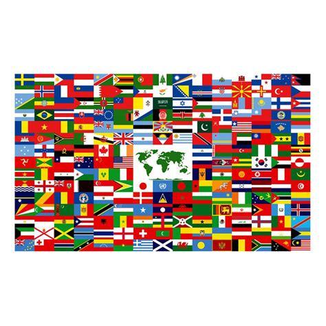 flags of the world banner the world flag 3ft x 5ft nylon