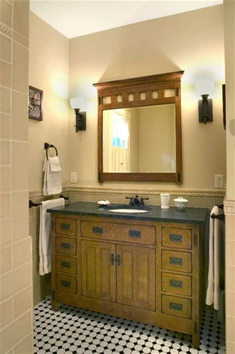 arts and crafts bathroom ideas arts crafts bathroom traditional bathroom