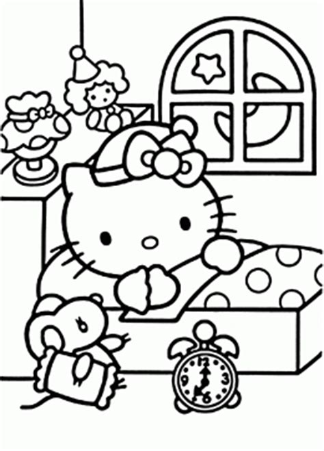 hello kitty and minnie mouse coloring pages hello kitty coloring pages for girls hello kitty