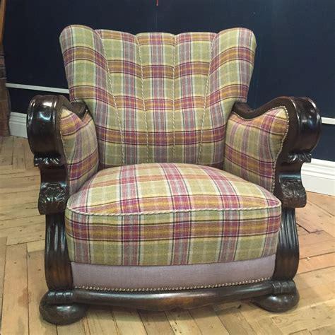 upholstery norfolk tartan chair norwich norfolk upholstery
