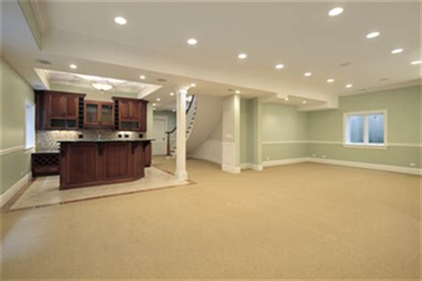 add needed space with a finished basement