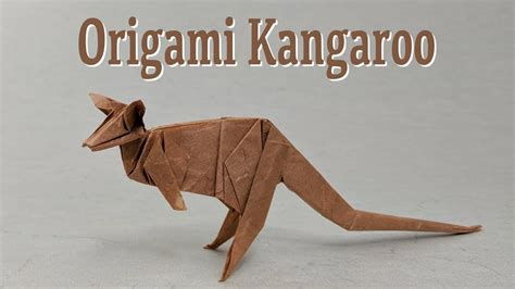 Origami Kangaroo - origami kangaroo easy images craft decoration ideas