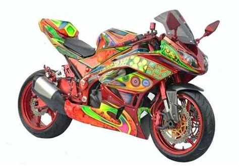 modifikasi motor mobil gambar modif kawasaki 250 r design bild