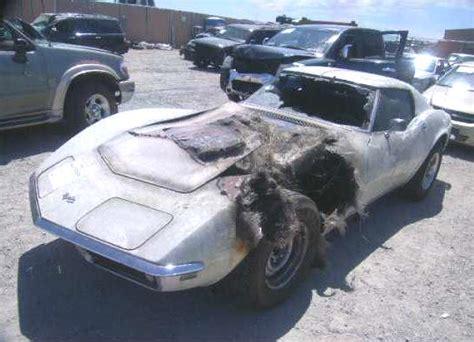 boat salvage yard sc 1969 corvette convertible big block 427 project cars