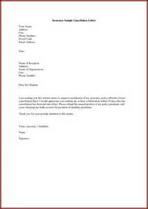 Cancellation Letter For Travel Insurance Insurance Cancellation Letter Video Search Engine At